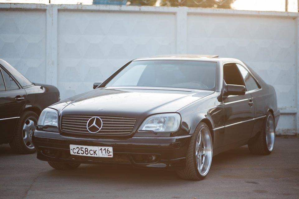 Mercedes CL600 С140 6.0 V12 (35)