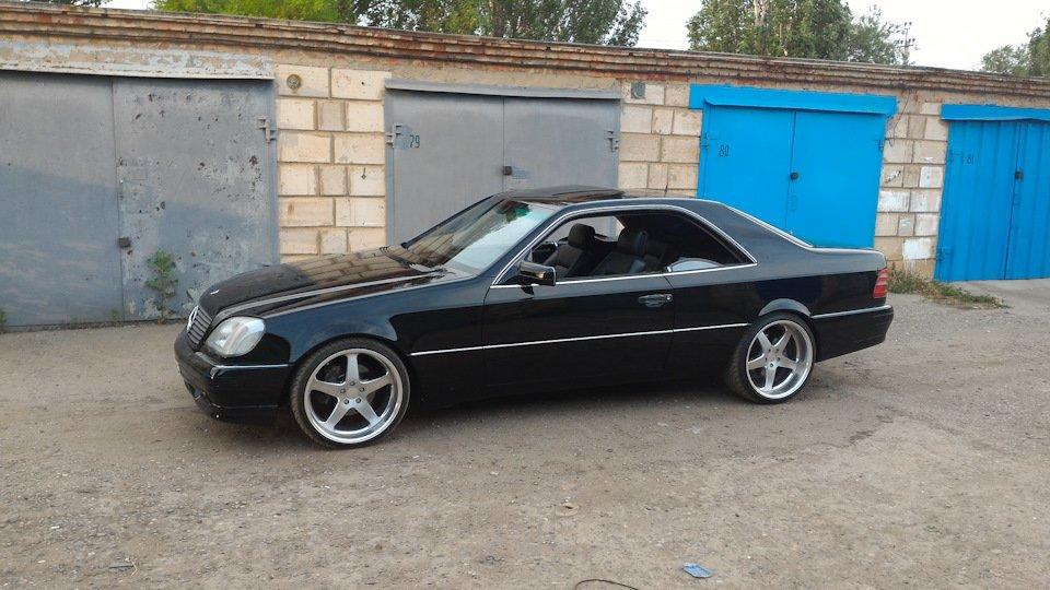 Mercedes CL600 С140 6.0 V12 (37)
