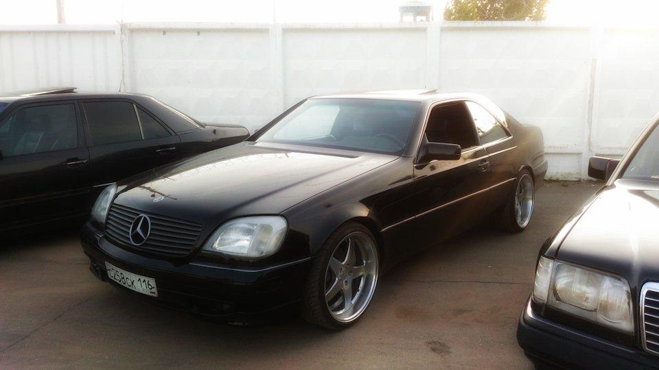 Mercedes CL600 С140 6.0 V12 (3)