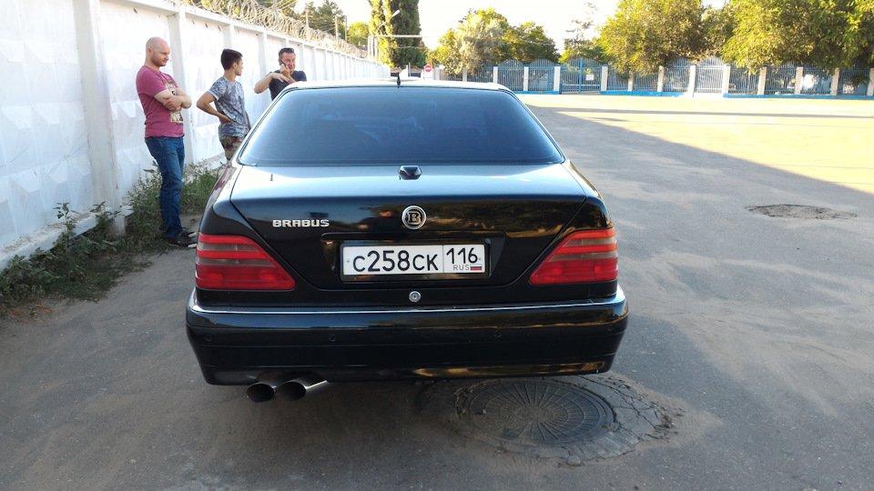 Mercedes CL600 С140 6.0 V12 (44)