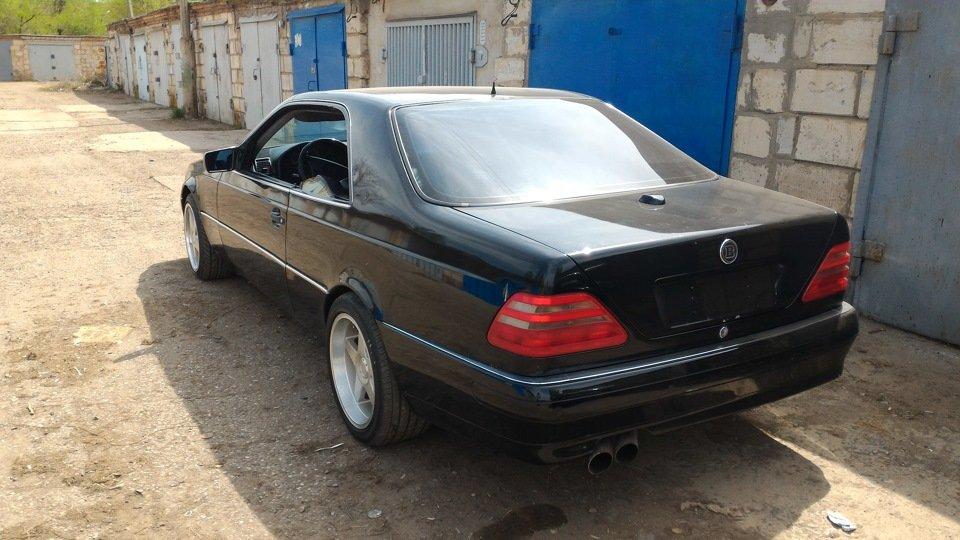 Mercedes CL600 С140 6.0 V12 (45)