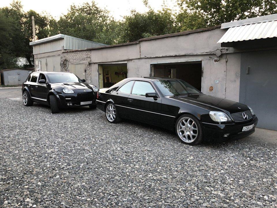 Mercedes CL600 С140 6.0 V12 (48)
