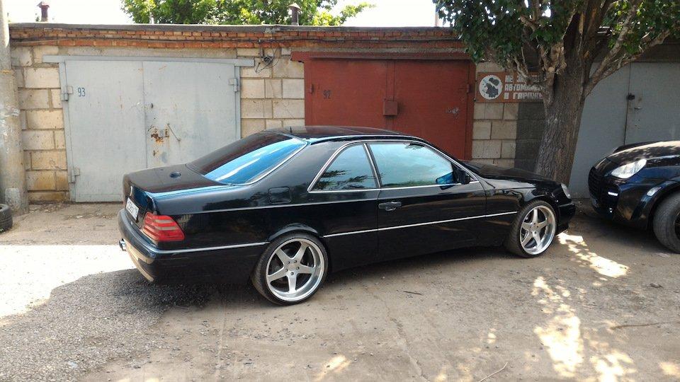 Mercedes CL600 С140 6.0 V12 (49)