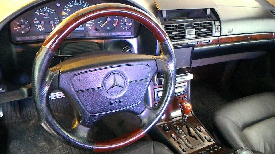 Mercedes CL600 С140 6.0 V12 (4)