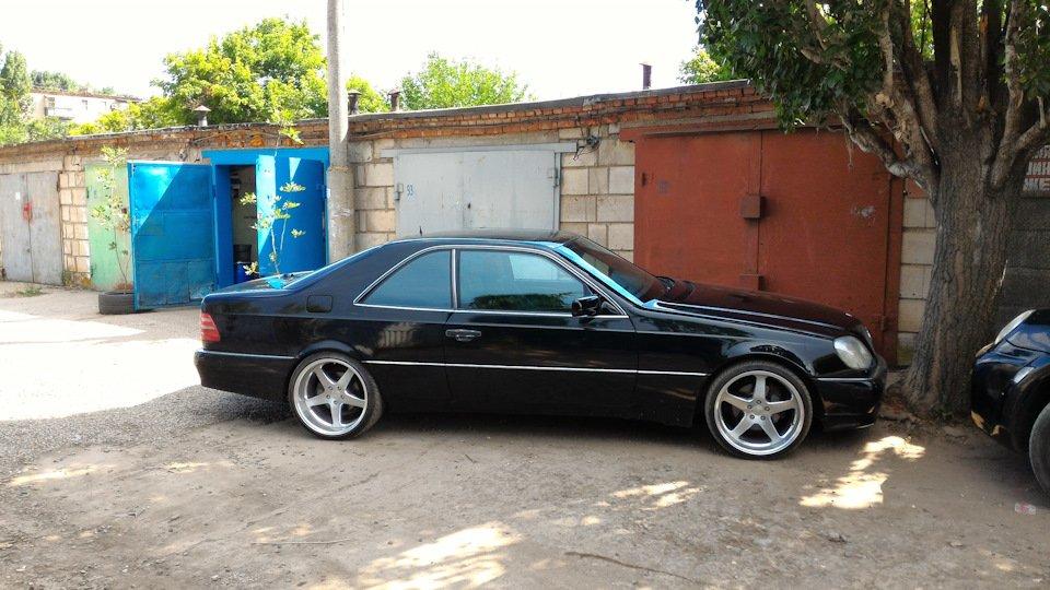 Mercedes CL600 С140 6.0 V12 (50)