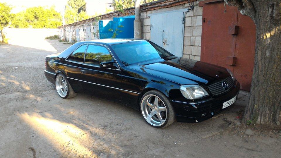 Mercedes CL600 С140 6.0 V12 (52)