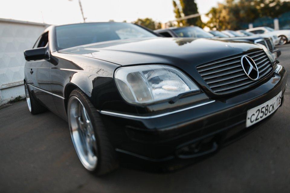 Mercedes CL600 С140 6.0 V12 (56)
