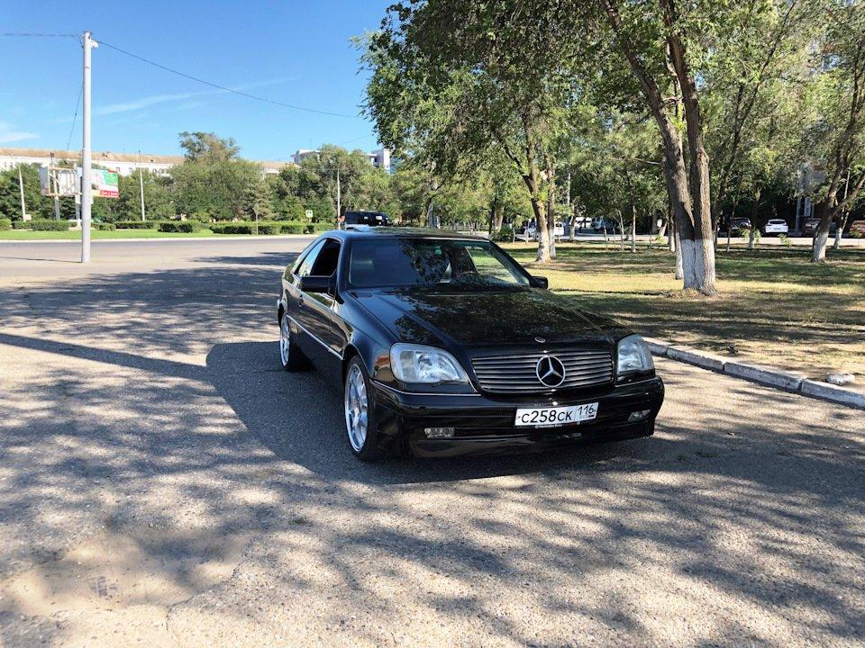 Mercedes CL600 С140 6.0 V12 (58)
