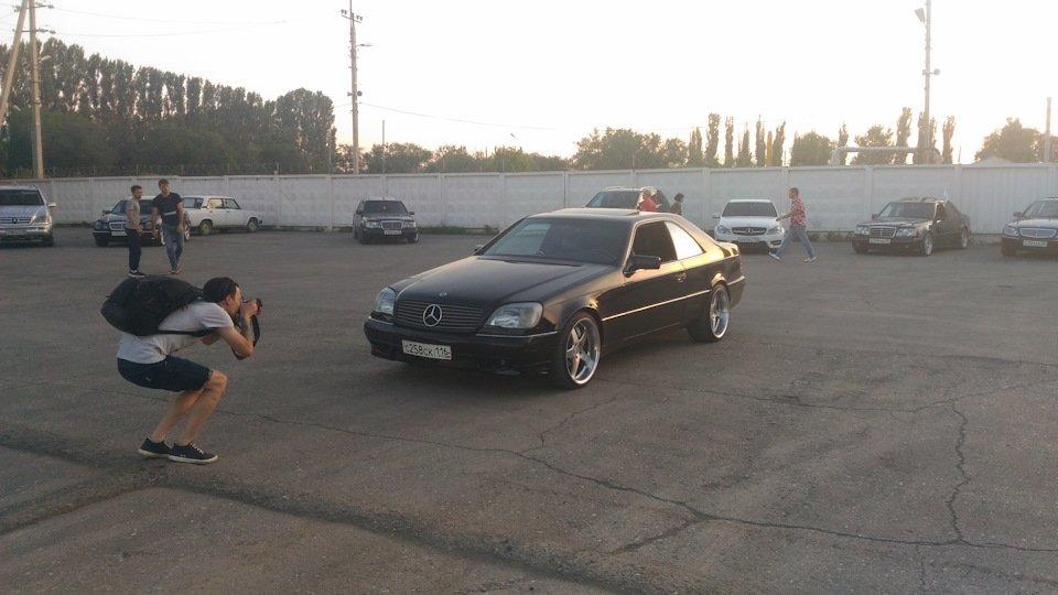 Mercedes CL600 С140 6.0 V12 (59)