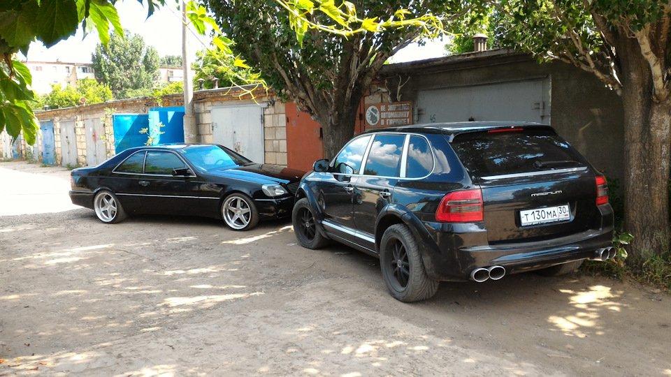 Mercedes CL600 С140 6.0 V12 (5)