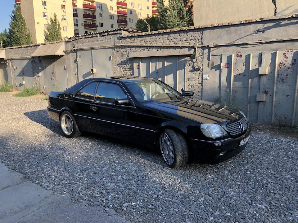 Mercedes CL600 С140 6.0 V12 (62)