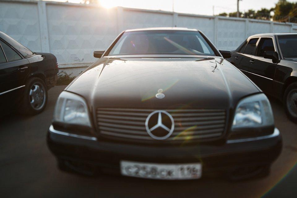 Mercedes CL600 С140 6.0 V12 (66)
