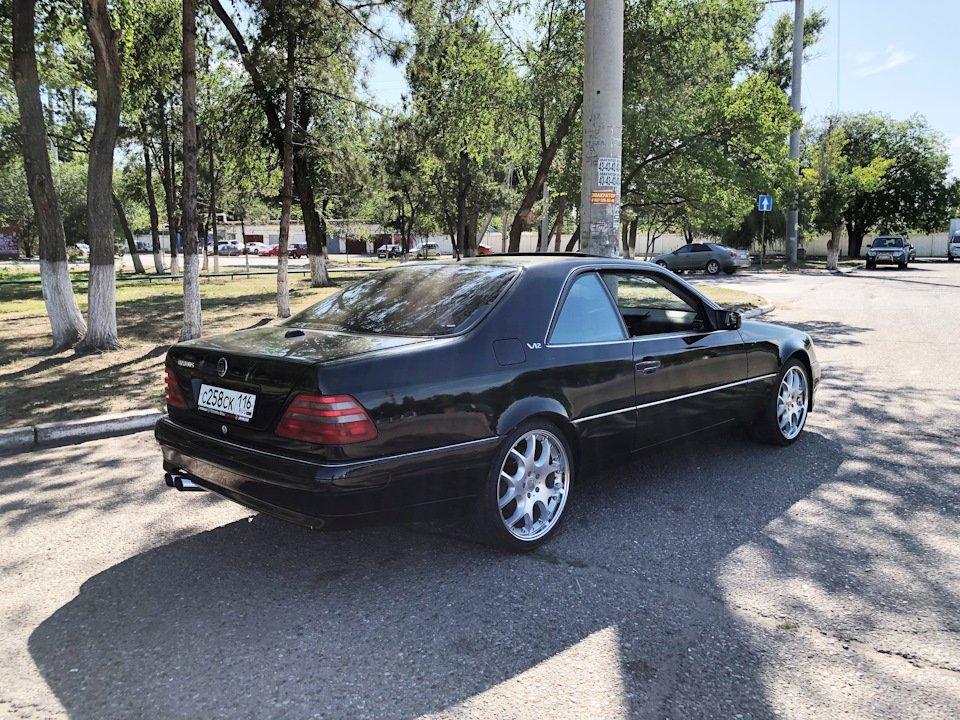 Mercedes CL600 С140 6.0 V12 (67)