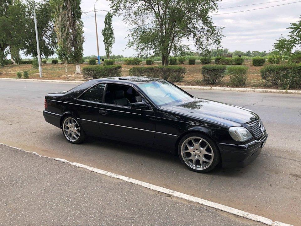 Mercedes CL600 С140 6.0 V12 (69)