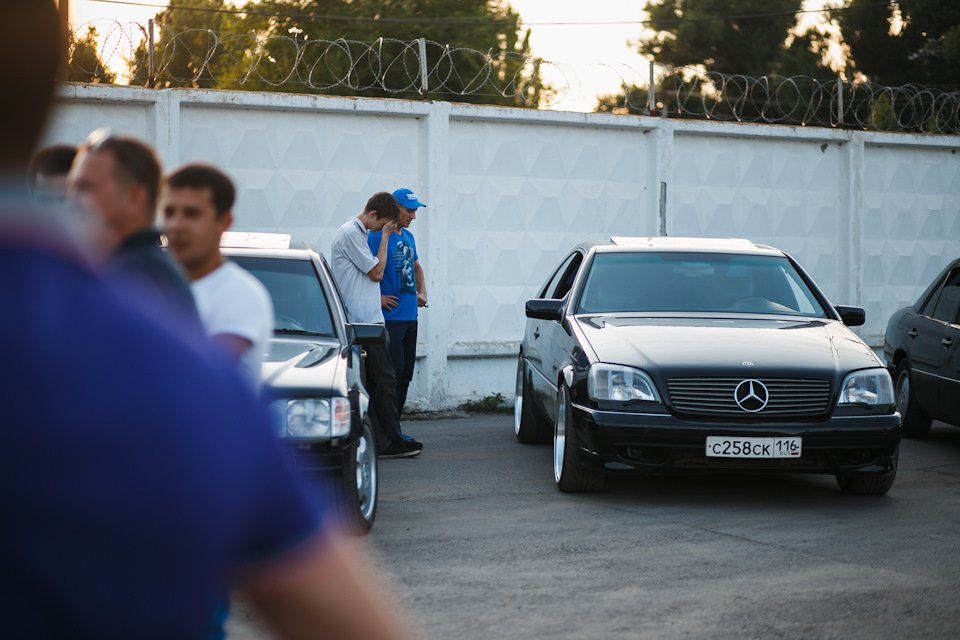 Mercedes CL600 С140 6.0 V12 (6)