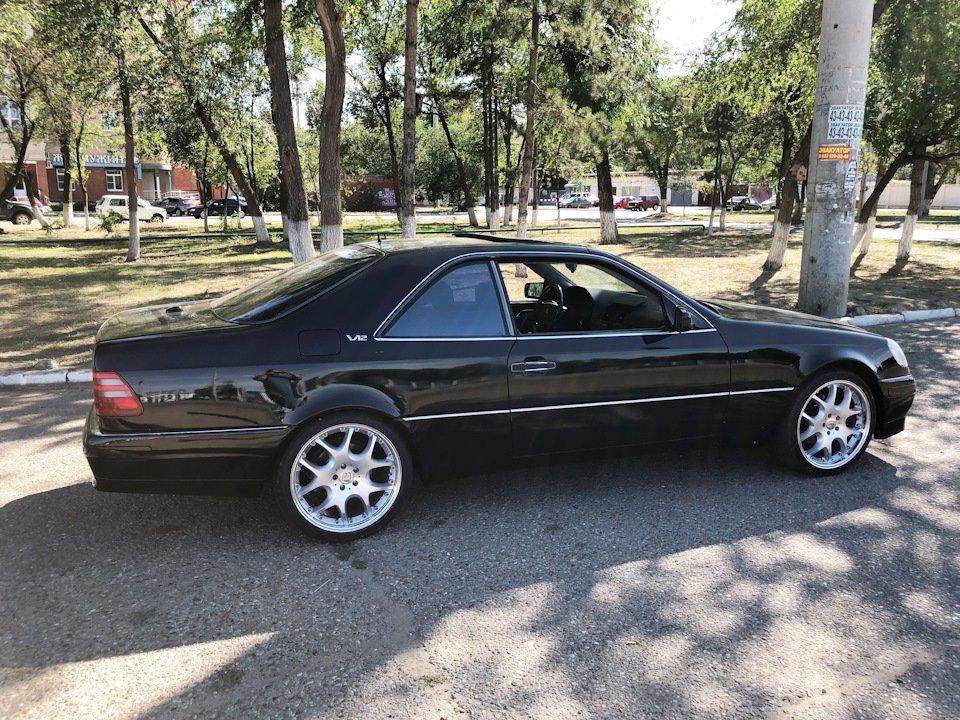 Mercedes CL600 С140 6.0 V12 (73)
