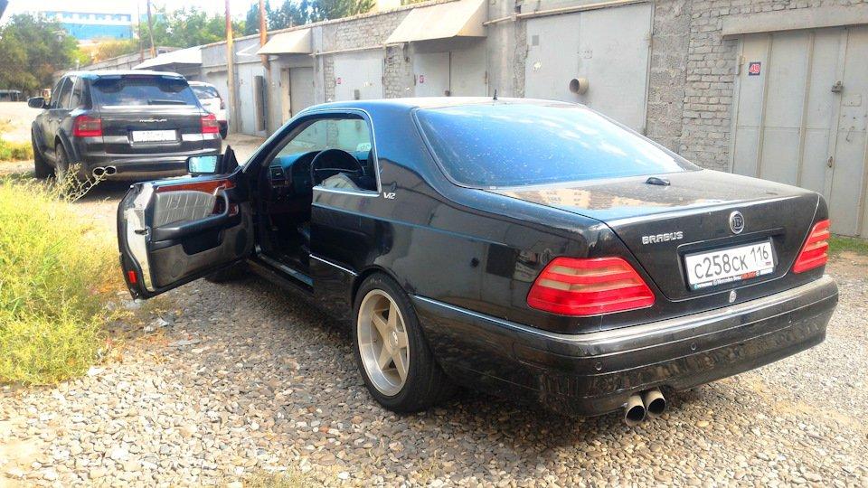 Mercedes CL600 С140 6.0 V12 (76)