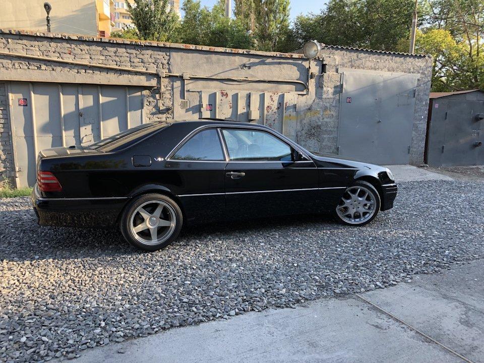 Mercedes CL600 С140 6.0 V12 (81)