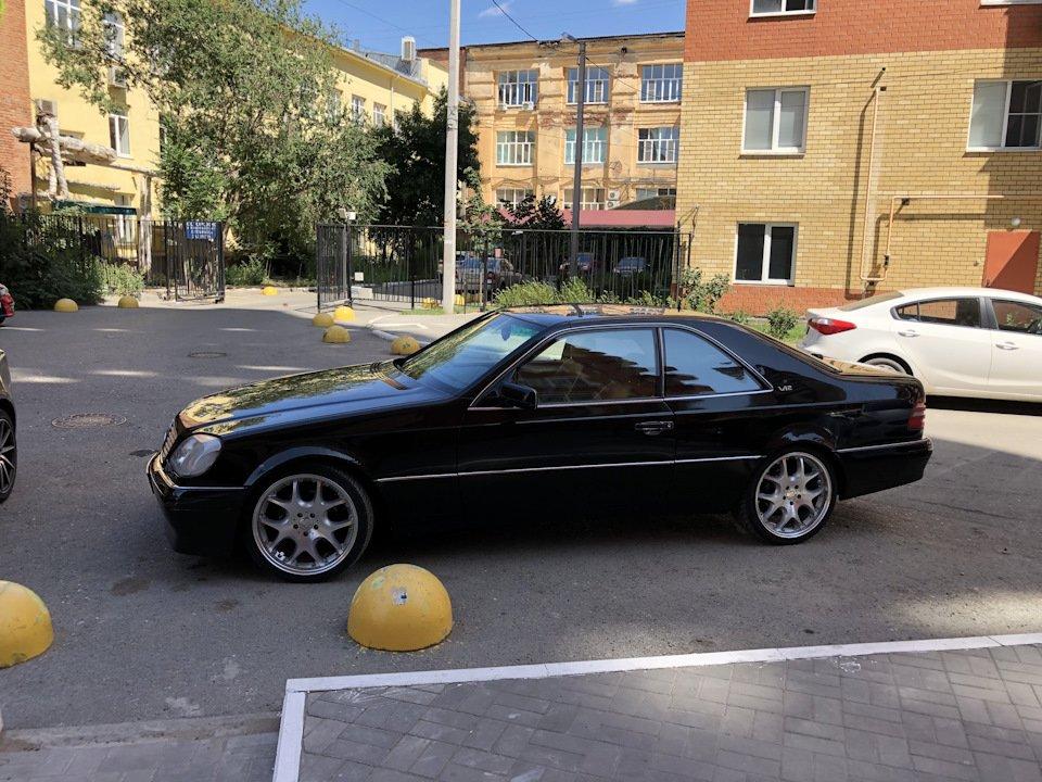 Mercedes CL600 С140 6.0 V12 (82)