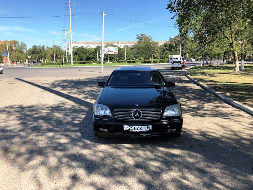 Mercedes CL600 С140 6.0 V12 (83)