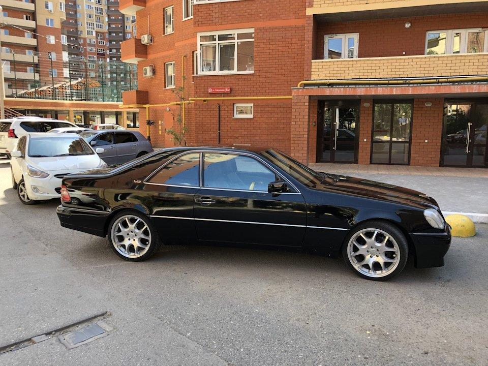 Mercedes CL600 С140 6.0 V12 (86)