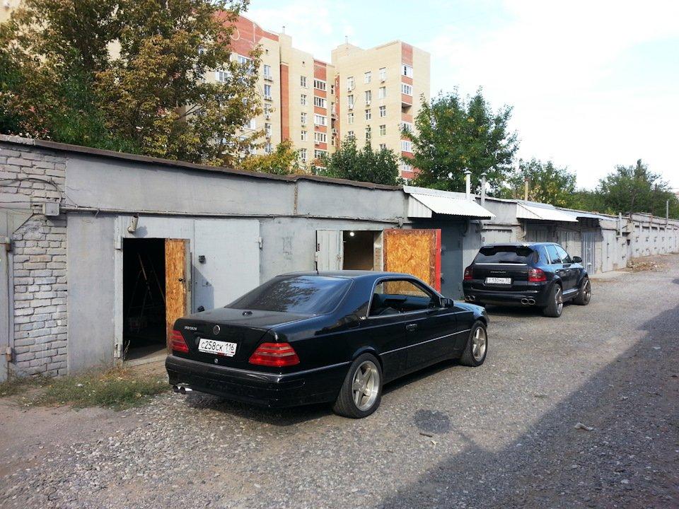 Mercedes CL600 С140 6.0 V12 (87)