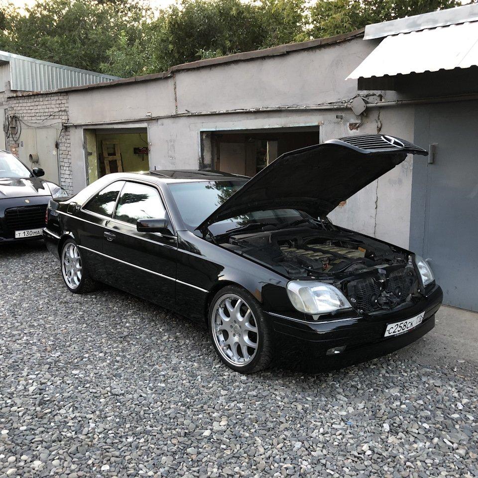 Mercedes CL600 С140 6.0 V12 (88)
