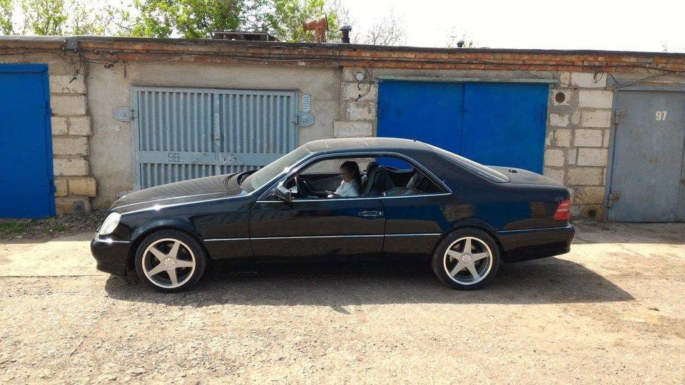 Mercedes CL600 С140 6.0 V12 (8)