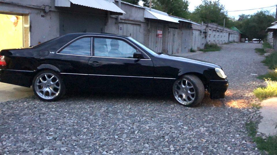Mercedes CL600 С140 6.0 V12 (90)