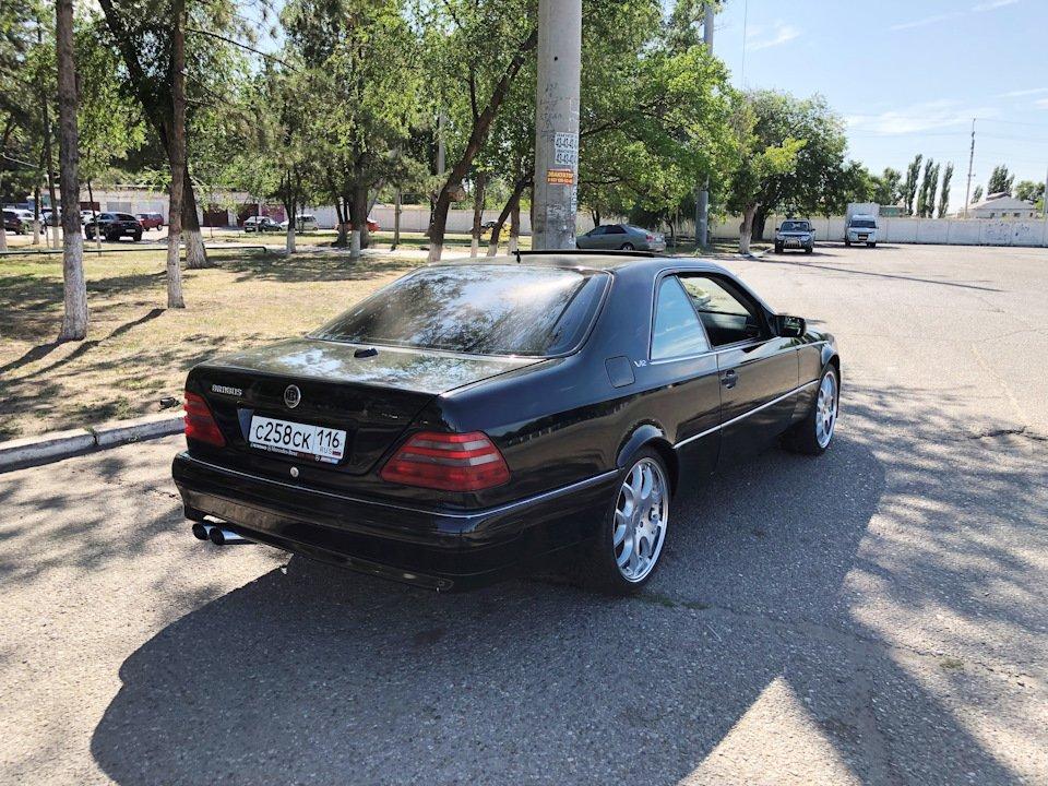 Mercedes CL600 С140 6.0 V12 (94)