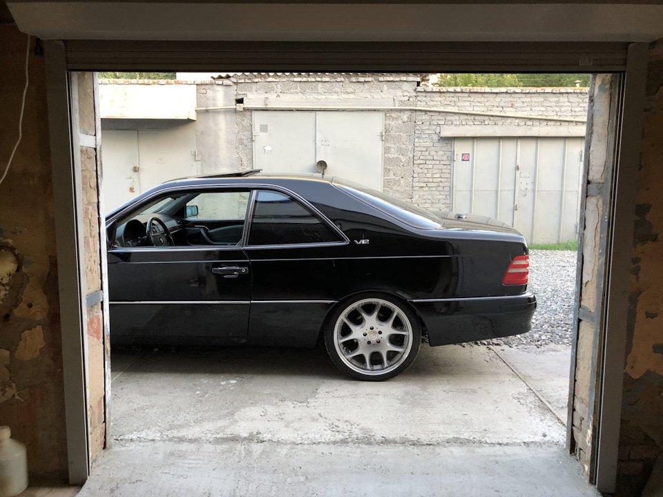 Mercedes CL600 С140 6.0 V12 (98)
