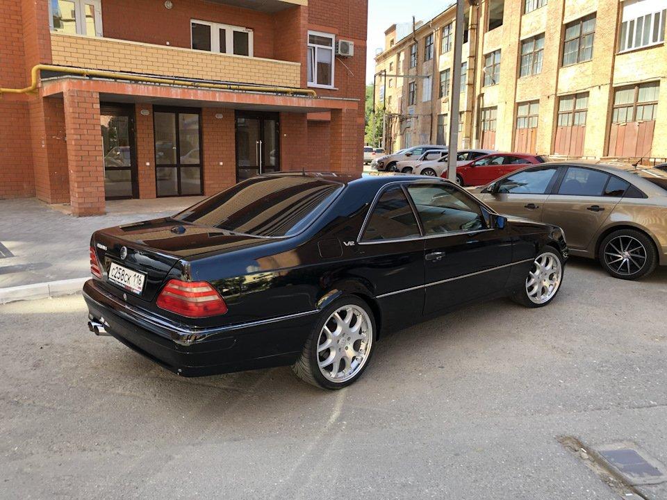 Mercedes CL600 С140 6.0 V12 (99)