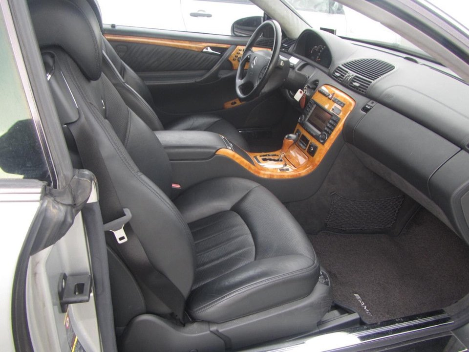 Mercedes CL 55 AMG KOMPRESSOR W215 (2)