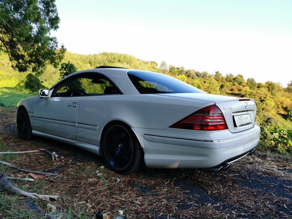 Mercedes CL 55 AMG KOMPRESSOR W215 (37)