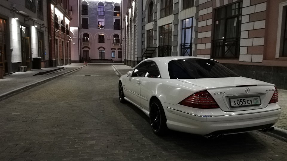 Mercedes CL 55 AMG KOMPRESSOR W215 (40)