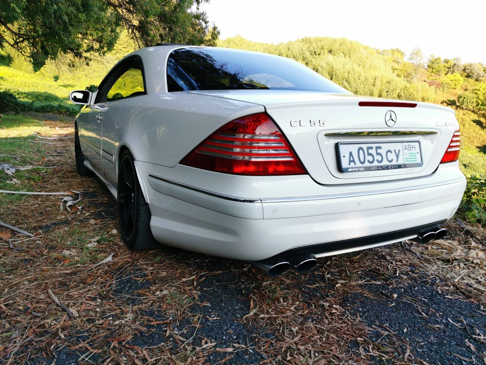 Mercedes CL 55 AMG KOMPRESSOR W215 (55)