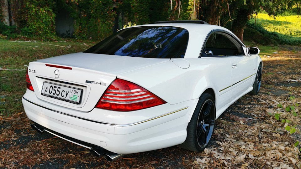 Mercedes CL 55 AMG KOMPRESSOR W215 (67)