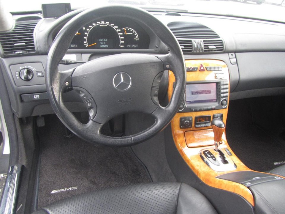 Mercedes CL 55 AMG KOMPRESSOR W215 (7)