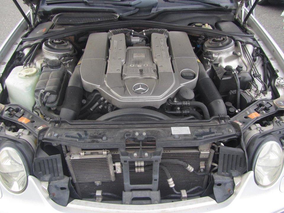 Mercedes CL 55 AMG KOMPRESSOR W215 (9)