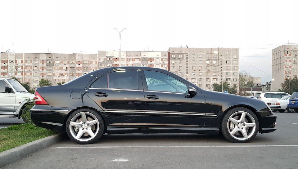 Mercedes C 55 AMG W203 (2)