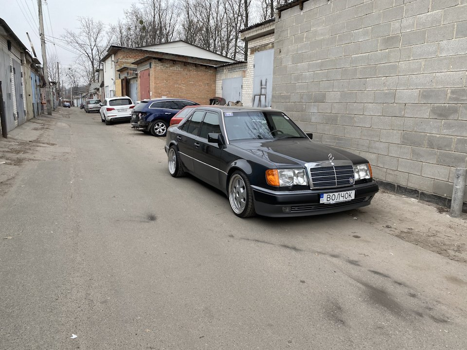 Mercedes E-class 500Е W124 (59)