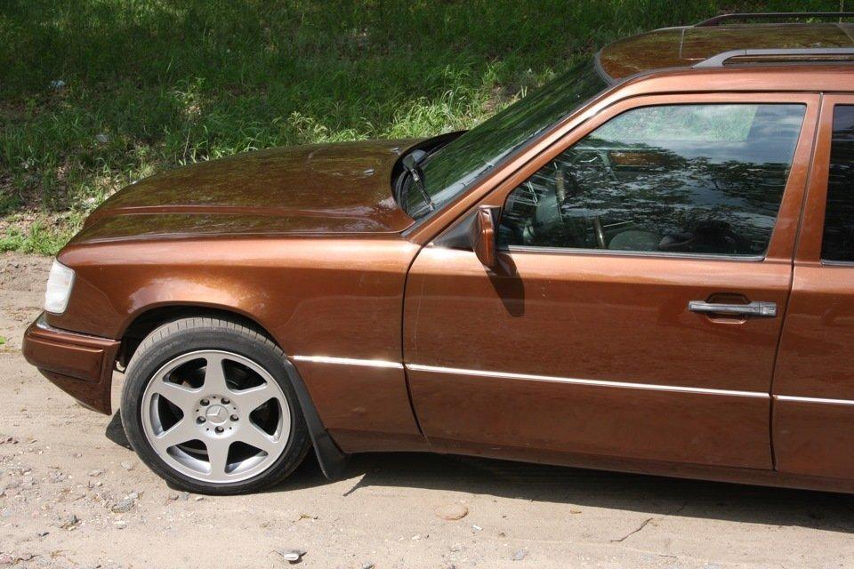 Mercedes E-class E280 S124 Candy Brown (14)