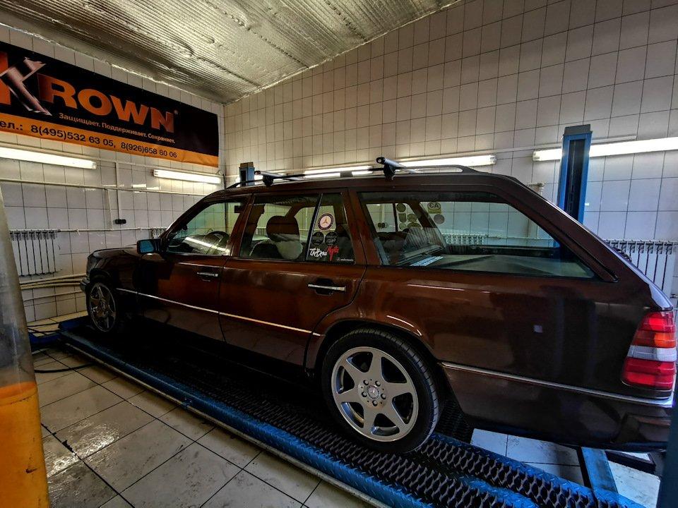 Mercedes E-class E280 S124 Candy Brown (18)