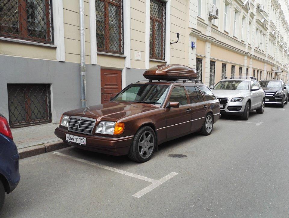 Mercedes E-class E280 S124 Candy Brown (19)