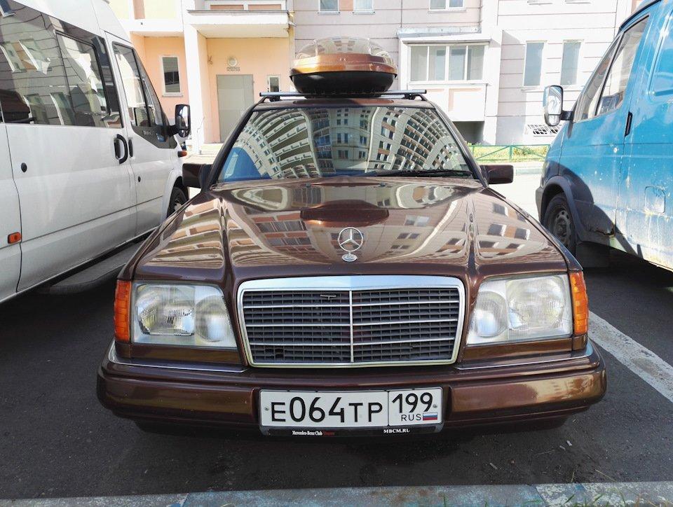 Mercedes E-class E280 S124 Candy Brown (35)