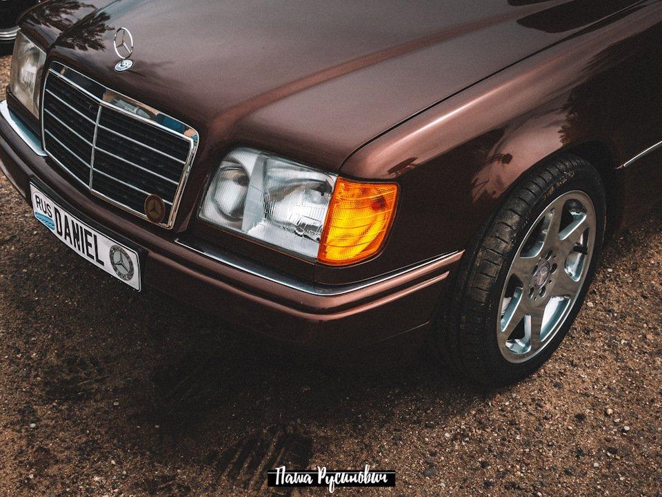 Mercedes E-class E280 S124 Candy Brown (42)