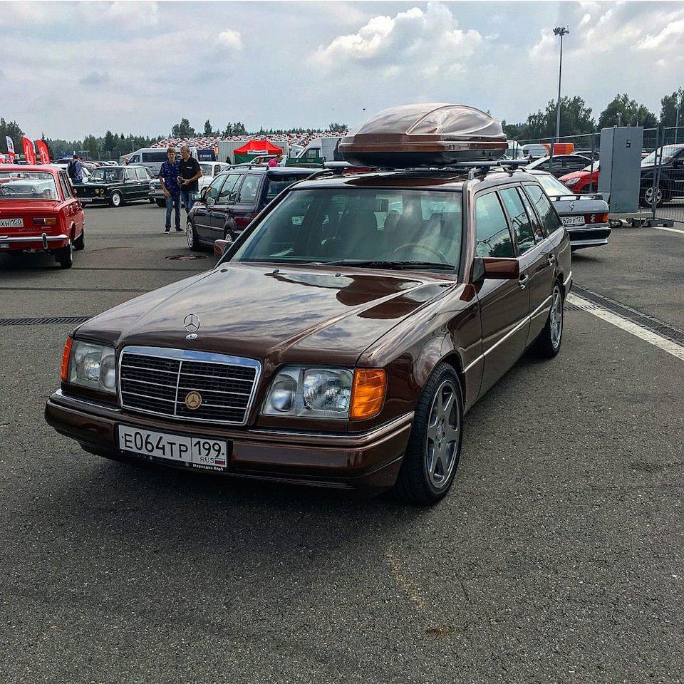 Mercedes E-class E280 S124 Candy Brown (44)
