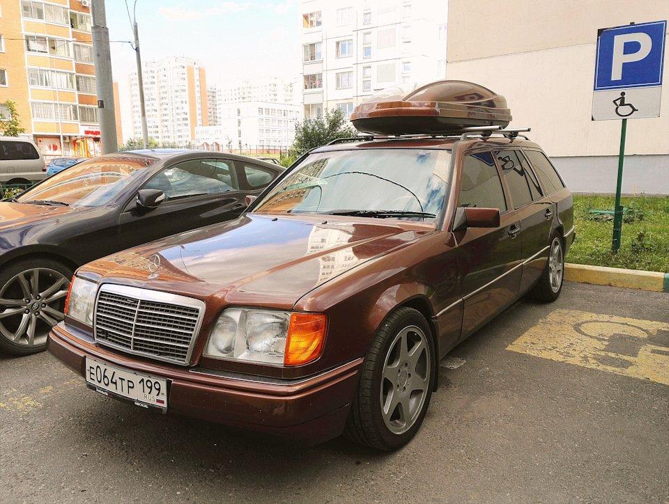 Mercedes E-class E280 S124 Candy Brown (4)