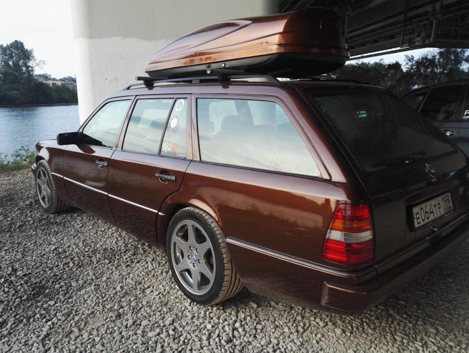 Mercedes E-class E280 S124 Candy Brown (53)