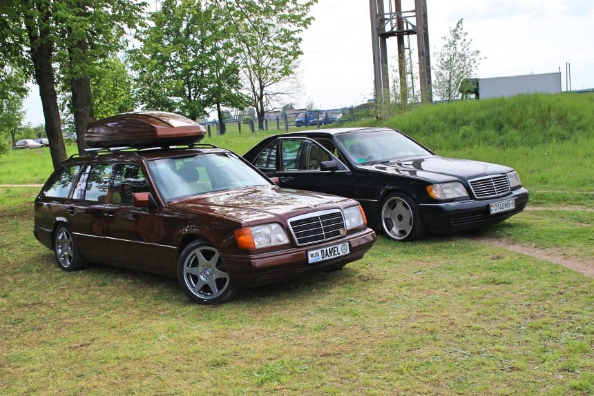 Mercedes E-class E280 S124 Candy Brown (56)